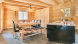 Chatel Luxury Rental Chalet Chalcora Dining Area 2
