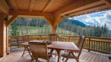 Chatel Location Chalet Luxe Chalcora Terrasse