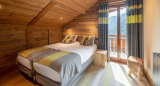 Chatel Luxury Rental Chalet Chambera Bedroom 3