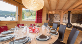 Chatel Luxury Rental Chalet Chambero Dining Area 2