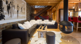 Chatel Luxury Rental Chalet Chambero Living Area 2