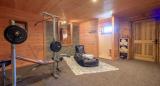 Chatel Luxury Rental Chalet Chapa Fitness Room