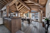 Courchevel 1300 Location Appartement Luxe Tilanche Salle A Manger