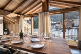 Courchevel 1300 Location Appartement Luxe Tilanche Salle A Manger 4