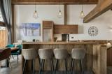 Courchevel 1300 Location Appartement Luxe Tilante Cuisine