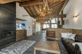 Courchevel 1300 Luxury Rental Appartment Tilante Living Room 3