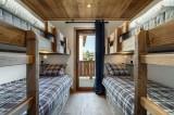 Courchevel 1300 Location Appartement Luxe Tilite Chambre