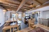Courchevel 1300 Luxury Rental Chalet Nibate Dining Room