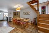 Courchevel 1300 Luxury Rental Chalet Nieruole Dining Room 2