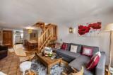 Courchevel 1300 Luxury Rental Chalet Nieruole Living Room 2