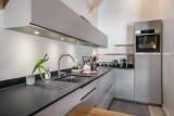 Courchevel 1300 Luxury Rental Chalet Niutine Kitchen