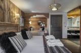 Courchevel 1300 Luxury Rental Chalet Noubate Bedroom