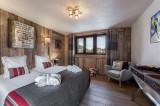Courchevel 1300 Luxury Rental Chalet Noubate Bedroom 4