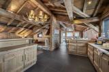 Courchevel 1300 Luxury Rental Chalet Noubate Kitchen 3