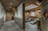 Courchevel 1300 Luxury Rental Chalet Noubate Relaxing Area