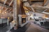 Courchevel 1300 Luxury Rental Chalet Noubate Living Room 3