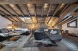 Courchevel 1300 Luxury Rental Chalet Noubate Living Room 5
