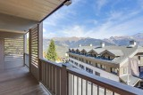 Courchevel 1550 Luxury Rental Appartment Telamite Balcony