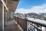 Courchevel 1550 Luxury Rental Appartment Telemite Balcony