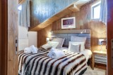 Courchevel 1550 Luxury Rental Appartment Telemite Bedroom 2