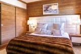 Courchevel 1550 Luxury Rental Appartment Telemite Bedroom 3