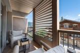 Courchevel 1550 Luxury Rental Appartment Telimite Balcony 2