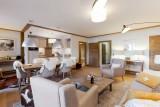 Courchevel 1550 Luxury Rental Appartment Telokia Living Room 3