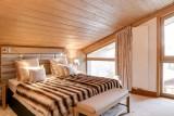 Courchevel 1550 Luxury Rental Appartment Telomite Bedroom