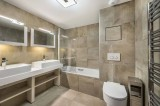 Courchevel 1550 Luxury Rental Appartment Telumite Bathroom
