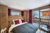 Courchevel 1550 Luxury Rental Chalet Nibite Bedroom 2