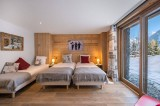 Courchevel 1550 Luxury Rental Chalet Nibite Bedroom 3