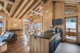 Courchevel 1550 Luxury Rental Chalet Nibite Kitchen