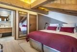Courchevel 1550 Luxury Rental Chalet Niebite Bedroom