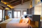 Courchevel 1550 Luxury Rental Chalet Niebite Bedroom 3
