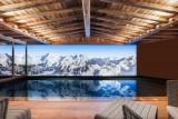 Courchevel 1550 Luxury Rental Chalet Niebite Swiming Pool