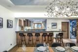 Courchevel 1550 Luxury Rental Chalet Niebite Dining Room