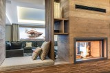 Courchevel 1550 Luxury Rental Chalet Niebite Living Room 3