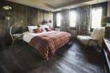 Courchevel 1550 Luxury Rental Chalet Niibite Bedroom 3