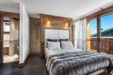 Courchevel 1550 Luxury Rental Chalet Niobite Bedroom