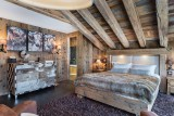 Courchevel 1550 Luxury Rental Chalet Niobite Bedroom 5