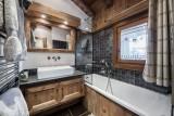Courchevel 1550 Luxury Rental Chalet Niobite Bathroom 3