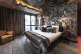 Courchevel 1550 Luxury Rental Chalet Niubise Bedroom 4