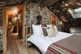 Courchevel 1550 Luxury Rental Chalet Niubise Bedroom 5