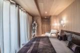 Courchevel 1550 Luxury Rental Chalet Niubite Bedroom