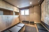 Courchevel 1550 Luxury Rental Chalet Niubite Ski Room