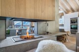Courchevel 1550 Luxury Rental Chalet Niubite Living Room 7