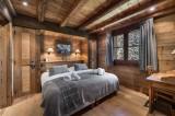 Courchevel 1550 Luxury Rental Chalet Niuréole Bedroom 7