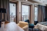 Courchevel 1550 Luxury Rental Chalet Niurer Bedroom 4