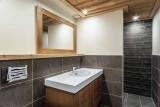 Courchevel 1550 Luxury Rental Chalet Niurer Bathroom