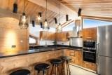 Courchevel 1550 Luxury Rental Chalet Niuron Kitchen